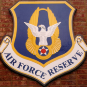 Bronze And Aluminum Seals And Logos Air Force Reserve Logo