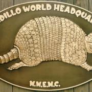 Bronze And Aluminum Seals And Logos Armadillo World Headquarters Logo