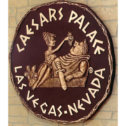 Bronze And Aluminum Seals And Logos Caesars Palace Las Vegas Nevada Logo