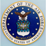 Bronze And Aluminum Seals And Logos Department Of Air Force Seal