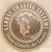 Bronze And Aluminum Seals And Logos Global Imaging Systems Seal
