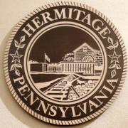 Bronze And Aluminum Seals And Logos Hermitage Pennsylvania Seal