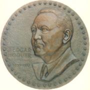 Bronze And Aluminum Seals And Logos J. Edgar Hoover Seal