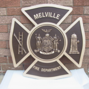 Bronze And Aluminum Seals And Logos Melville Fire Department Seal
