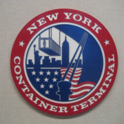 Bronze And Aluminum Seals And Logos New York Container Terminal Seal