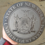 Bronze And Aluminum Seals And Logos New York Unified Court System Seal