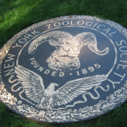 Bronze And Aluminum Seals And Logos New York Zoological Society Logo