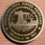 Bronze And Aluminum Seals And Logos Philadelphia Naval Shipyard Seal