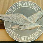 Bronze And Aluminum Seals And Logos Pratt Whitney Dependable Engines Logo