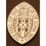 Bronze And Aluminum Seals And Logos The Diocese Of Iowa Seal