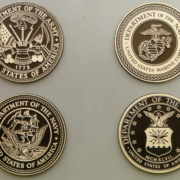 Bronze And Aluminum Seals And Logos United States Military Seals
