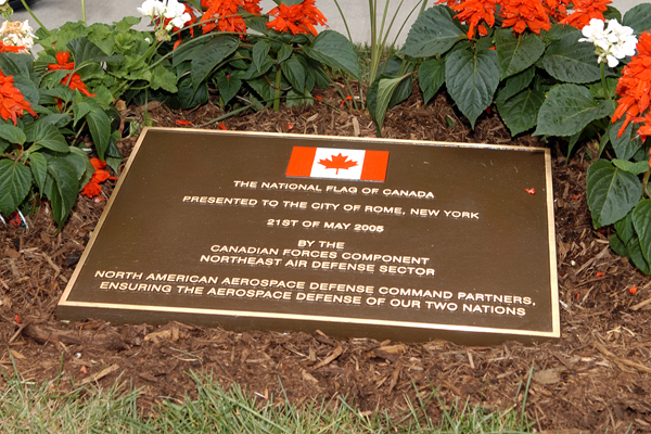 Garden Dedication Bronze Cast Plaque