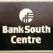 Cast Bronze Plaques Bank South Centre Logo Plaque
