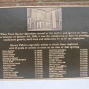 Cast Bronze Plaques Building Dedication Plaque