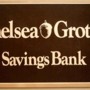Cast Bronze Plaques Chelsea Groton Bank Logo Plaque