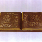 Cast Bronze Plaques Church Psalm Plaque