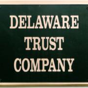Cast Bronze Plaques Delaware Trust Company Logo Plaque