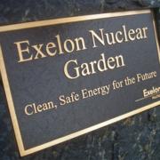 Cast Bronze Plaques Exelon Nuclear Garden Plaque