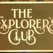 Cast Bronze Plaques Explorers Club Logo Plaque