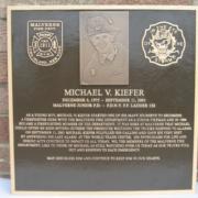 Cast Bronze Plaques Firefighter Memorial Plaque