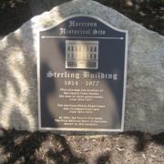 Cast Bronze Plaques Historical Site Plaque