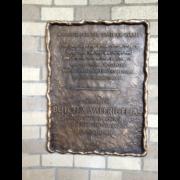 Cast Bronze Plaques Jewish Dedication Plaque