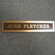 Cast Bronze Plaques Name Plaque