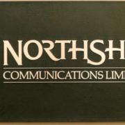 Cast Bronze Plaques North Shore Communication Ltd. Logo Plaque