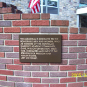 Cast Bronze Plaques Recognition Plaque