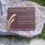 Cast Bronze Plaques Senior Park Dedication Plaque