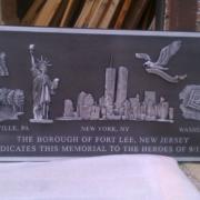 Cast Bronze Plaques September 11th Memorial Plaque