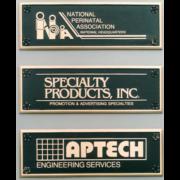 Cast Bronze Plaques Small Logo Plaques