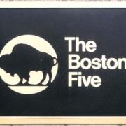 Cast Bronze Plaques The Boston Five Logo Plaque