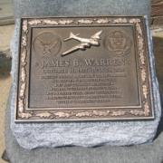 Cast Bronze Plaques World War II Soldier Memorial Plaque