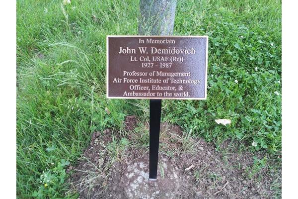 Show All Memorial Garden Plaques Plaque Mary Matthews John Demidovich