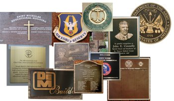 Bronze Plaques and Lettering